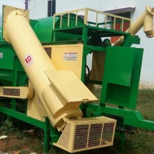 multicrop thresher with conveyor